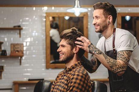 Pacchetto Uomo con taglio, rasatura barba e colore al salone d'acconciature Hair Lab 25 (sconto fino a 54%)