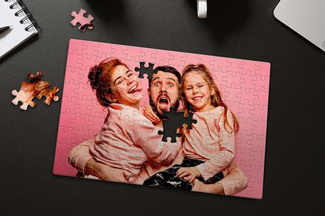 £2.99 instead of £9.95 for a small personalised puzzle, £4.99 for a medium, £8.99 for a large or £10.99 for an extra-large from Printerpix - save up to 70%