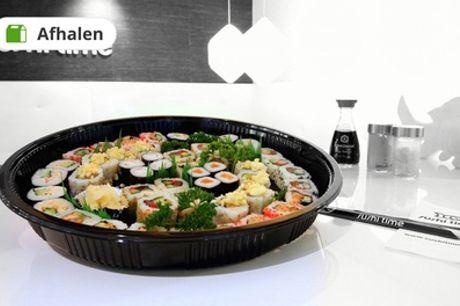 Sushiboxen met 20, 24 of 40 stuks om af te halen bij Sushi Time Den Haag
