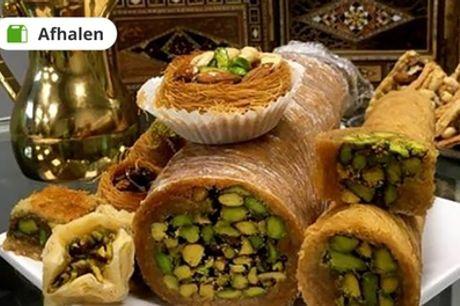 Arabische high tea voor 2-4 personen bij Zayn El Amier in Den Haag