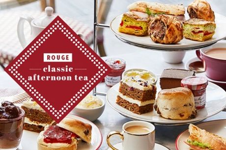 Afternoon Tea for Two at Café Rouge, Multiple Locations (Up to 15% Off)