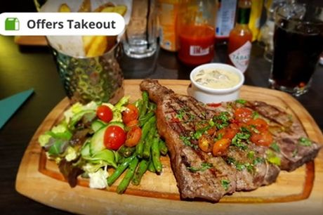 Choice of Steak Meal with Side for Two or Four at Le Madison