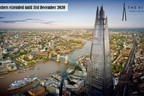 The View from The Shard Entry with Panoramic Guide and Optional Champagne