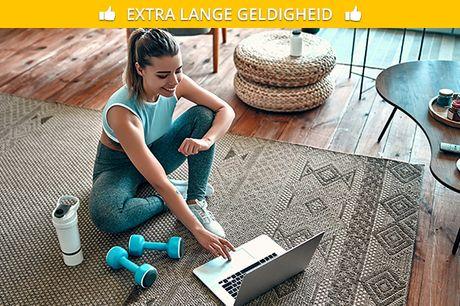 10-rittenkaart voor live online workouts