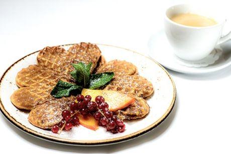 Wärmendes Heißgetränk mit hausgemachter Süßspeise für 2 oder 4 Personen bei Jäger und Lustig (50% sparen*)