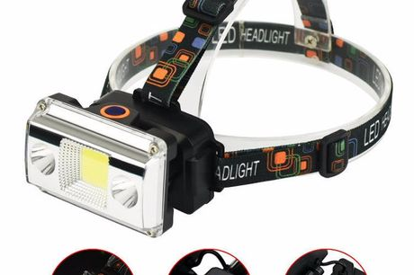 1100 lumens Emergency Head Lamp. 4 kinds of light source switching.Wide range of uses, such as cycling, camping, travel, hunting, fishing, etc.The charging interface is easy to use.