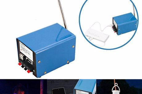 Emergency 20W Hand Crank Generator. Manual crank generator, a nice helper under emergent circumference.Energy saving, environmental friendly, and it is with many interface type.Multi-function, can charge for cellphone, USB nightlight, USB fan, power ban