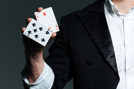 £14 for an online card-magic course