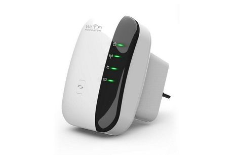 £14 instead of £69.99 (from Hevillo) for wireless repeater WiFi range extender - save 80%