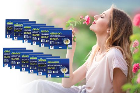 £4.99 (from Pharmacy First) for a six-month* supply of Cetirizine allergy tablets, or £7.99 for a 12-month* supply - stop the sniffles