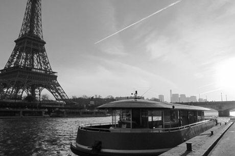 1 ou 2 billets enfants et/ou adultes pour croisière avec dépose à la tour Eiffel avec L'insolite