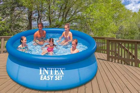 From £22.99 (from Gift Gadget) for an Intex Easy Set pool - choose from three sizes