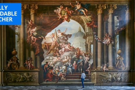 £14 -- London: entry for 2 to Painted Hall w/Baroque ceiling
