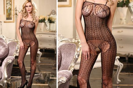 £6.99 (from My Voguish) for an open crotch spider web netted bodystocking