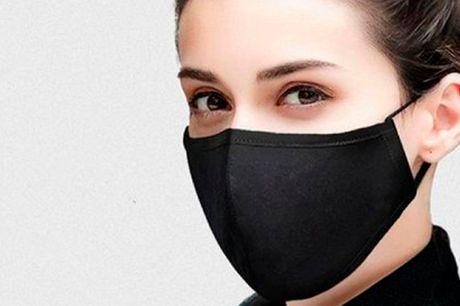10 stk. Unisex masker i lækkert blødt anti-bakterial materiale