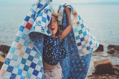 £16 for a quilting for kids online course
