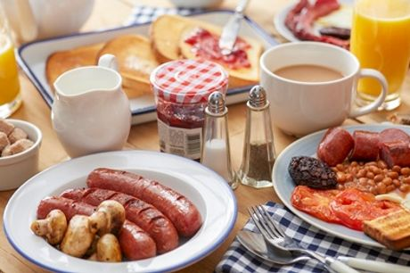 Breakfast Fry-Up or All-American Breakfast for One or Two at Browns Stateside Diner (Up to 45% Off)