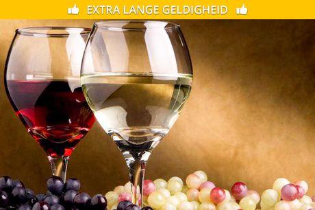 Waardebon voor wijn, gratis thuisbezorgd