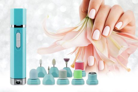 £10.99 for a nine-in-one manicure and pedicure electric nail drill machine set from Magic Trend saving 72%!