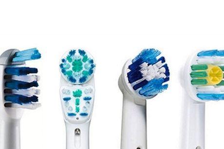 Set van 4, 8, 12 of 16 Oral-B-compatibele vervangende opzetborstels