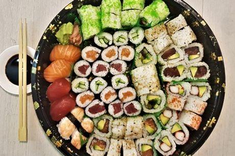 Marie Heinekenplein: sushibox met 20, 40 of 60 stuks afhalen bij Selfie Sushi in de Amsterdamse Pijp