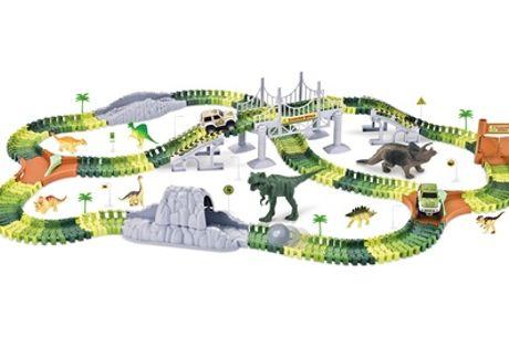 Groot en flexibel dinosauruscircuit om zelf te bouwen