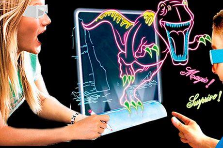 Spændende og magisk 3D-tegnebræt der gør kunsten levende