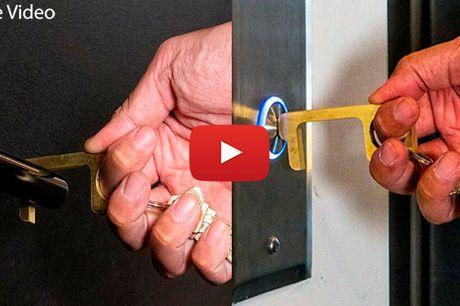 Smart Key™ - Undgå Bakterier - Samt Hjælp Med At Stoppe Bakterie Spredning!
