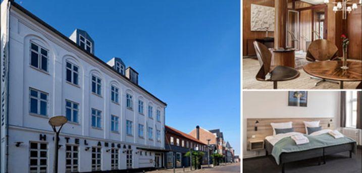 Dejligt ophold med eller uden børn.. - Besøg Esbjerg og bo skønt på Hotel Ansgar. 1 eller 2 nætter for 2 personer eller 2 nætter for 2 voksne med 2 børn. Morgenmad inkl. Værdi op til kr. 3140,-