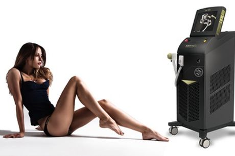 Soprano ICE Laser Hair Removal at Boutique Spa