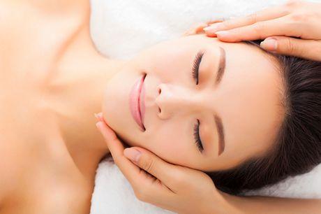 Glæd dig til 60 vidunderlige minutter med både ansigtsbehandling og farve af bryn og vipper hos Bodylines i Fredericia
