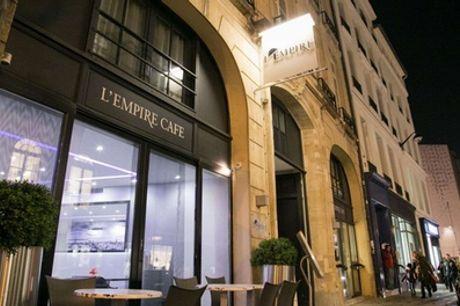 Spa privé d'1h ou 1h30 avec ou sans champagne, repas ou modelage pour 2 dès 89€avec L'Empire Paris Spa Privatif