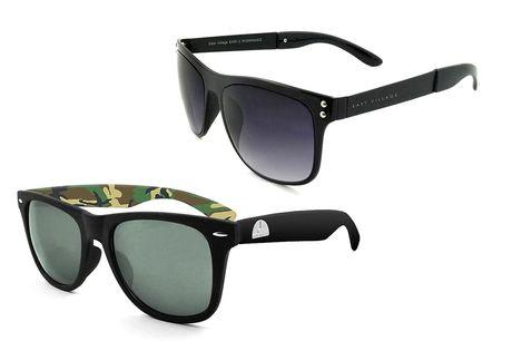 £12.99 (from Break The Ice) for a pair of East Village Wayfarer sunglasses