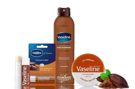 £6.99 instead of £22.99 for a Vaseline cocoa trio set from Avant-Garde Brands Ltd - save 70%