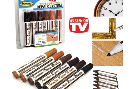 Reparationssæt til møbler og gulve