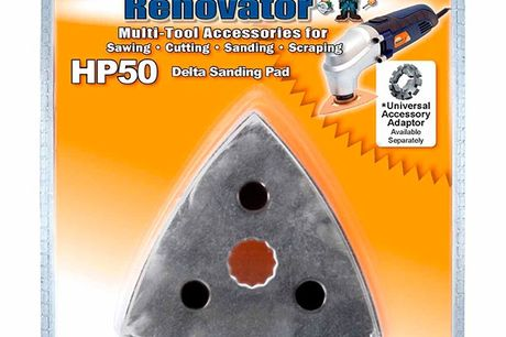 Multi-Tool HP50 Delta slibepude til Renovator
