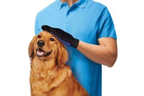 1 o 2 guantes de aseo para mascotas con envío gratuito