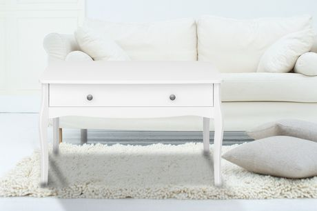 £59 instead of £139 (from Steens Group) for a white Baroque coffee table – save 58%