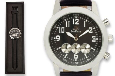 £29.99 instead of £299 (from Jan Kauf) for a Jan Kauf JK1035 men's watch - Save 87%