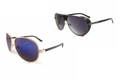 £12.99 (from Break the Ice) for a pair of East Village classic aviators - choose from five designs