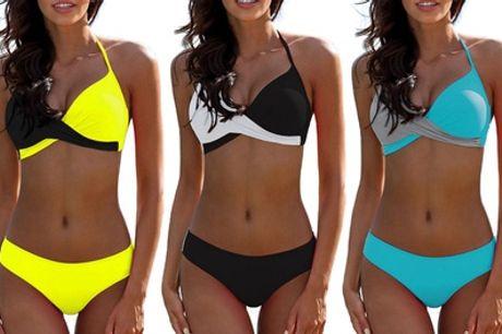 Bikini Muriel estilo bandeau con push up