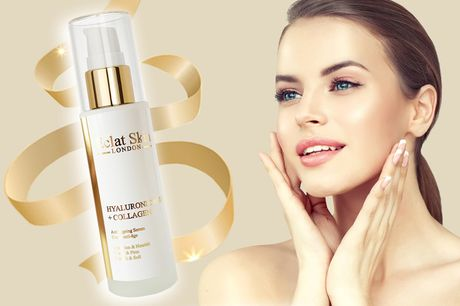 £9 instead of £51.01 (from Eclat Skin) for an anti-ageing hyaluronic acid and collagen serum – save 82%