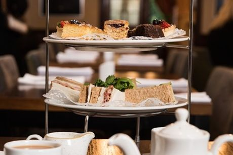 Afternoon Tea for Two or Four at Bredbury Hall Hotel