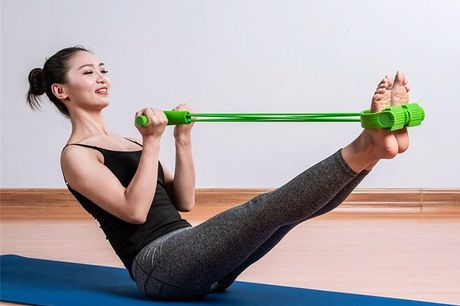 Foot Pedal Rope Resistance Bands. Even if you are on a business trip, you can exercise at any time to provide the ideal workout for your arms, legs and back. It can be used for sitting exercises to improve body stretch and flexibility. Made of High streng