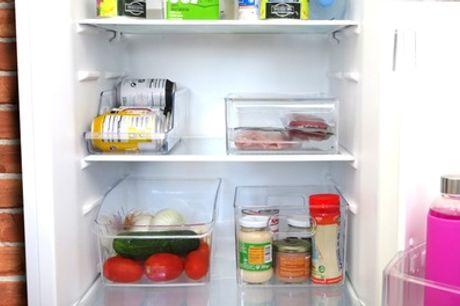 Cajas transparentes organizadoras para frigorífico