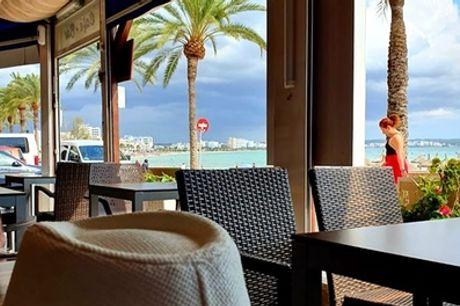 Menú para 2 o 4 con entrante, principal, postre y bebida en Restaurante Pizzería Eros (hasta 55% de descuento)