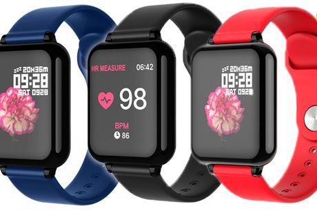 Flot smart-ur i fornyet og forbedret design med mange praktiske funktioner