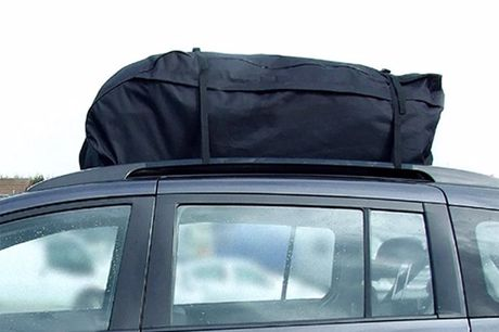 Waterproof Travel Bag for Cars Foldable for easy storage.Soft and pliable, its smooshed down securely.Expertly engineered four-straps keeps everything in place.Rugged water resistant material,concealed zipper and double stitched seams.Applies to a var