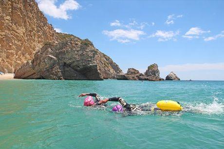 Explore Portugal a nado e deixe-se encantar pelo nosso país. Dia de Exploração a Nado em Águas Abertas + Passeio em Terra por apenas 99,90€
