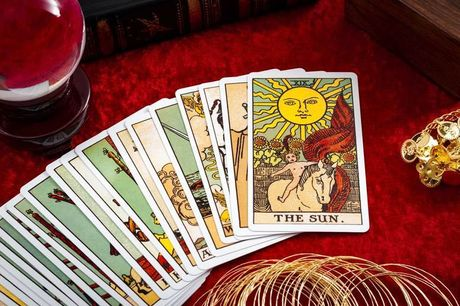 £6 instead of £15 for a three-card tarot reading via email from UK Psychic Guide - gain insight into your life and save 60%